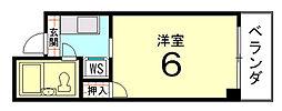 Flourish Naka[305号室]の間取り