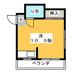 ブリリアントガーデン[3階]の間取り