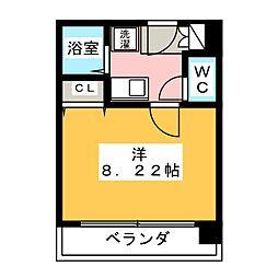 ビューフローラ[5階]の間取り