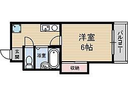 中村十番館[2階]の間取り