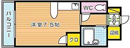 パークサイド60[8階]の間取り