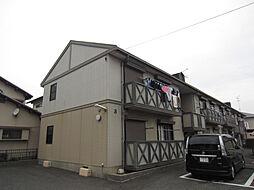 ガーデンタウン清水 B棟[203号室]の外観
