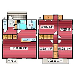 [一戸建] 北海道札幌市豊平区月寒東五条16丁目 の賃貸【/】の間取り
