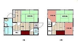 宝亀アパート[3号室]の間取り