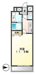 CASSIA錦本町通(旧スタジオスクエア錦)[11階]の間取り