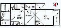 リーヴェルポート横浜南アルバ[302号室]の間取り