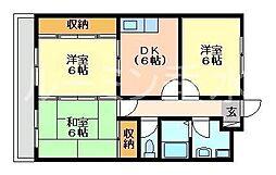 エンセントメゾン[2階]の間取り