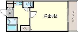 メゾンサイプレスII[3階]の間取り