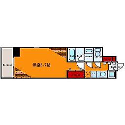 フュージョナル本所アーリア[10階]の間取り