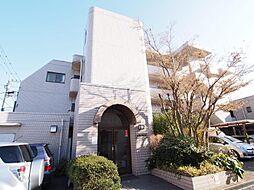 神奈川県川崎市多摩区長尾1丁目の賃貸マンションの外観