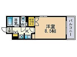 ドマーニ大濠[1階]の間取り