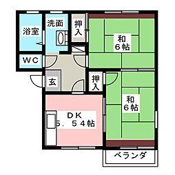 アネックス21[2階]の間取り
