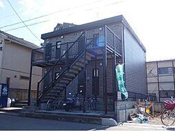埼玉県川口市南鳩ケ谷6丁目の賃貸アパートの外観