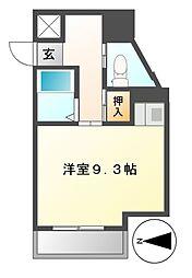 ドール新栄[1階]の間取り
