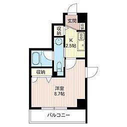 ラフィーネ湘南[2階]の間取り