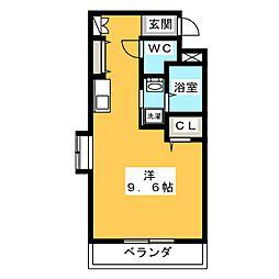 第10たつみビル[1階]の間取り