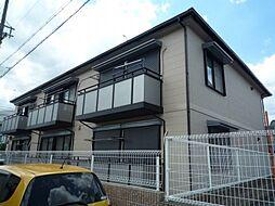 兵庫県伊丹市森本3丁目の賃貸アパートの外観