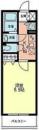 シエルグランTOKAI[106号室]の間取り