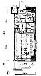 ルーブル上鷺宮弐番館[205号室号室]の間取り