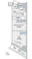 東京都千代田区五番町の賃貸マンションの間取り