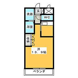 ガーデンヴィラTY・III[1階]の間取り