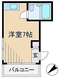 GSハイム巣鴨 2[2階]の間取り