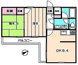 ライオンズマンション杉並妙法寺[5階]の間取り