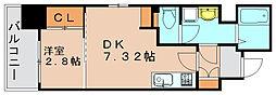 グランフォーレ箱崎ステーションプラザ[5階]の間取り