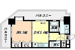 FORT-S(フォートエス)[4階]の間取り
