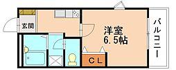 レンブランサ若宮IIA[1階]の間取り