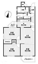 「宮前平」駅 歩7分 南向き角部屋 リフォーム済マンション