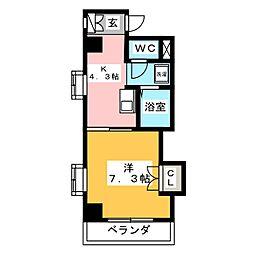 第3大洋ビル[5階]の間取り