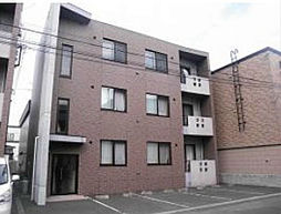 北海道札幌市東区北十三条東14丁目の賃貸アパートの外観