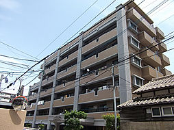 福岡県福岡市早良区西新7丁目の賃貸マンションの外観