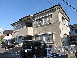 大阪府枚方市池之宮2丁目の賃貸アパートの外観