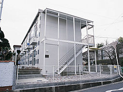 大阪府茨木市南春日丘6丁目の賃貸アパートの外観