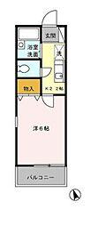 配郷B(ハイゴウB)[2階]の間取り