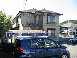 京都府京都市左京区上高野畑ケ田町の賃貸アパートの外観
