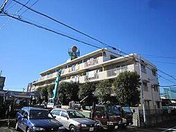 埼玉県蕨市北町4丁目の賃貸マンションの外観