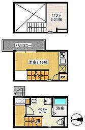 Sumitai栄生[104号室]の間取り