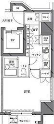 セジョリ西麻布[5階号室]の間取り