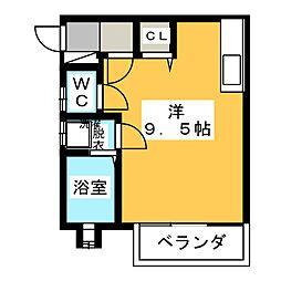 エステートハイムII[2階]の間取り