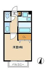 セレーナ上本郷 C棟[2階]の間取り