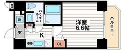 スワンズシティ堺筋本町[6階]の間取り