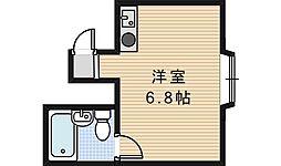 サンフラワー駒川[1階]の間取り