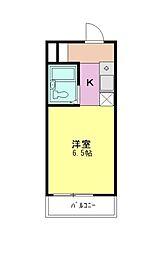 パームツリーガーデン[1階]の間取り