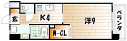 メディプラカーサ[5階]の間取り
