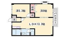御着駅 3.9万円