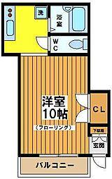 関根アパート[1階]の間取り