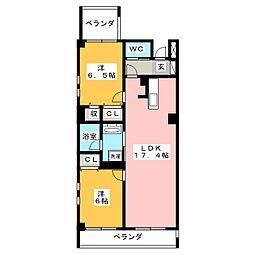 Legcy八事[2階]の間取り